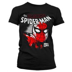 Stylové dámské triko Spider-Man Close Up