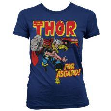 Stylové dámské triko The Mighty Thor For Asgard!