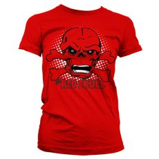 Stylové dámské triko The Red Skull
