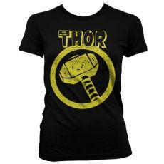 Stylové dámské triko Thor Distressed Hammer