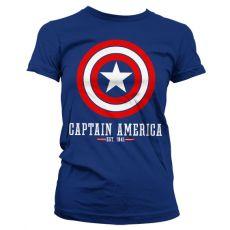 Dámské tričko Captain America Logo