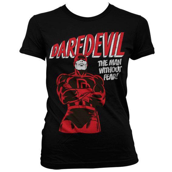 Marvel stylové dámské tričko s potiskem Daredevil