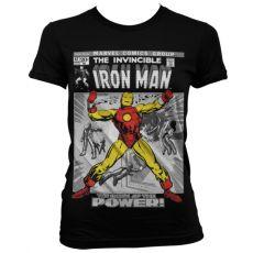 Dámské tričko Iron Man Cover