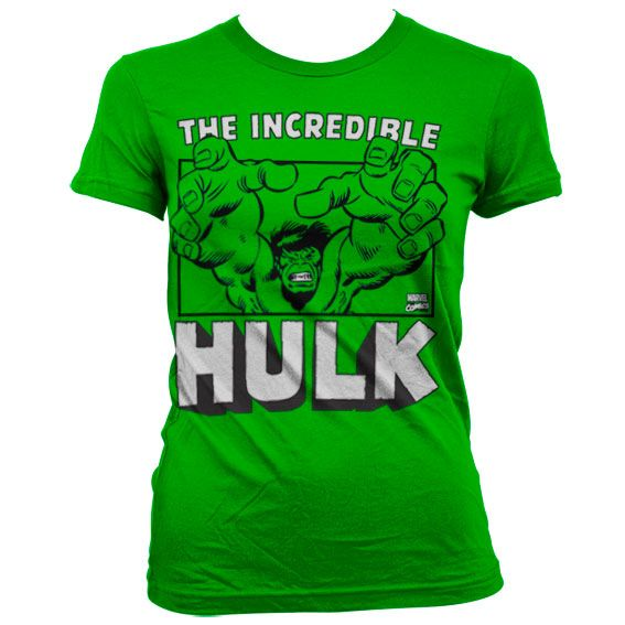 Marvel stylové dámské tričko s potiskem The Incredible Hulk
