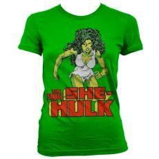 Dámské tričko The Savage She-Hulk