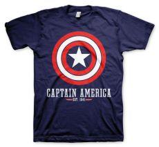 Pánské tričko Captain America Logo