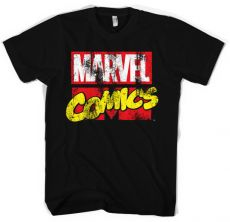 Stylové pánské tričko Comics Retro Logo
