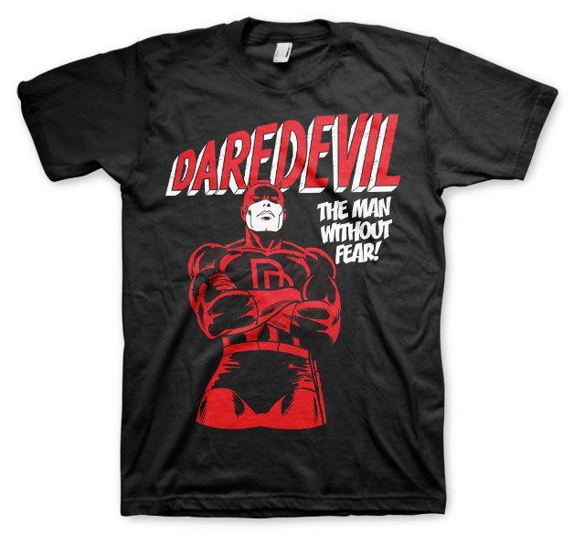 Marvel stylové pánské tričko s potiskem Daredevil