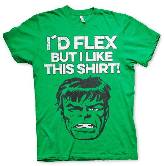Marvel stylové pánské tričko s potiskem I´d Flex But I Like This
