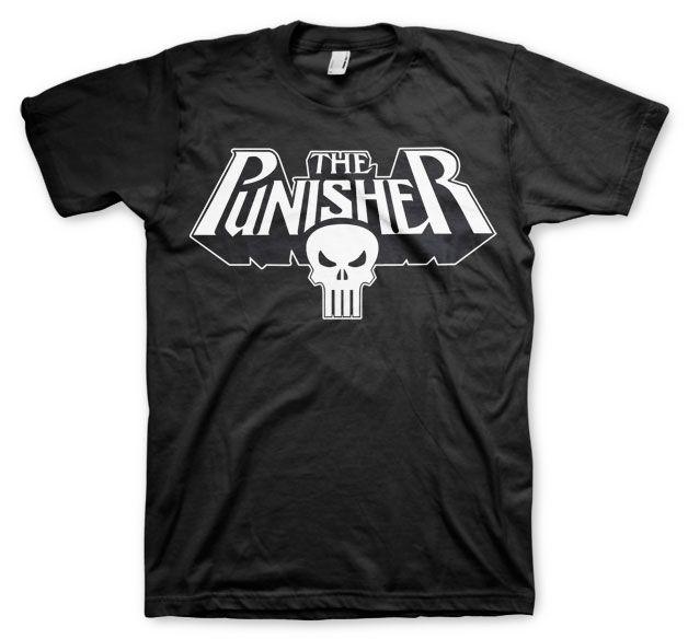 Marvel stylové pánské tričko s potiskem The Punisher Logo