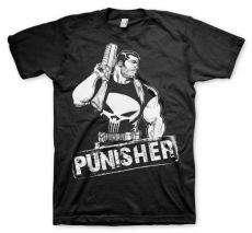 Stylové pánské tričko The Punisher Character