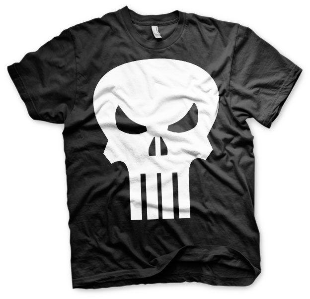 Marvel stylové pánské tričko s potiskem The Punisher Skull c896741ffe