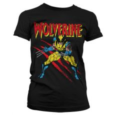 Dámské tričko s potiskem Wolverine Scratches
