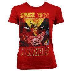 Dámské tričko s potiskem Wolverine Since 1974
