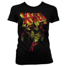 Dámské tričko s potiskem X-Men Distressed