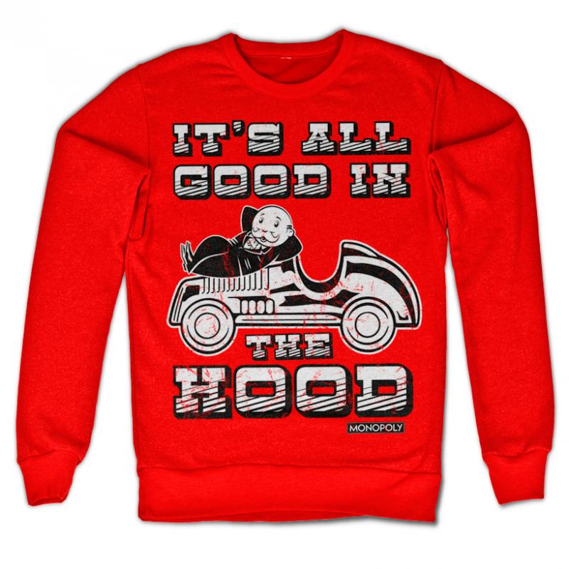 Monopoly originální mikina s potiskem It's All Good In The Hood