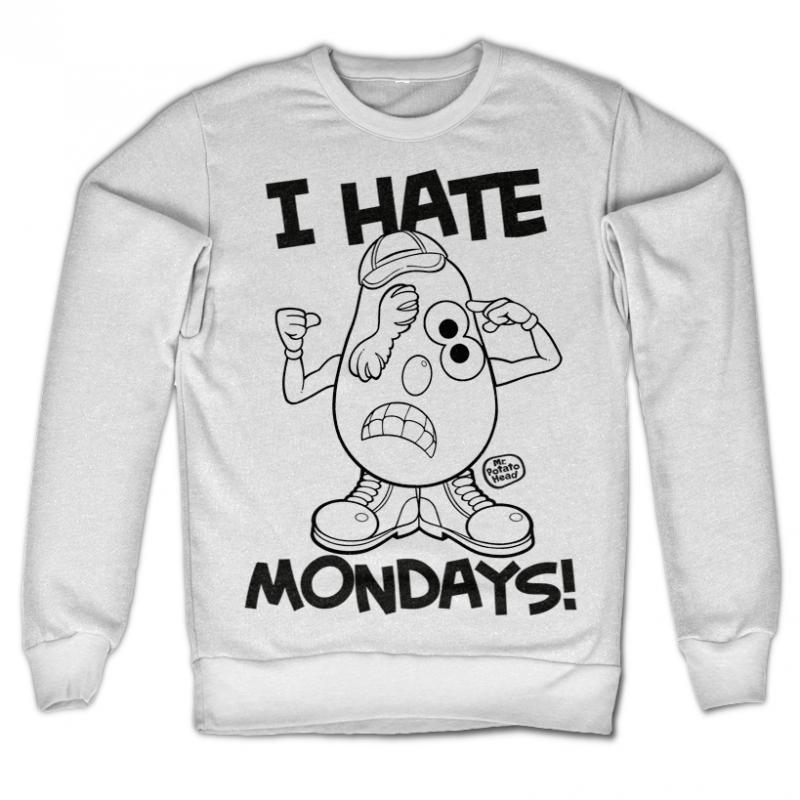 Mr. Potato Head originální mikina s potiskem I Hate Monday