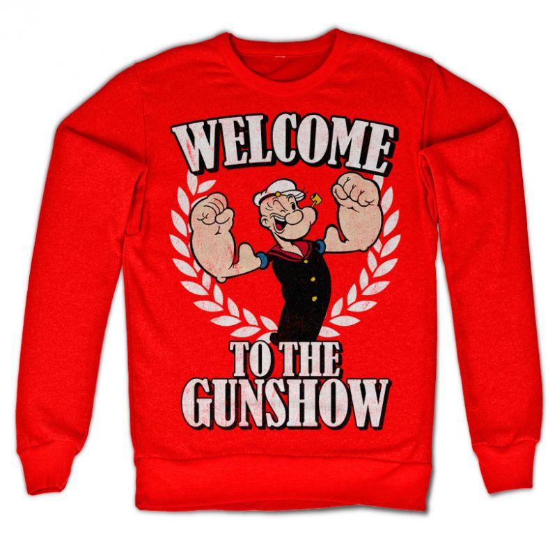 Popeye originální mikina s potiskem Welcome to the Gunshow