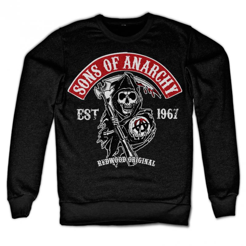 Sons of Anarchy originální mikina s potiskem Redwood Original Patch