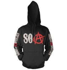 Sons of Anarchy mikina s kapucí Distressed Logo