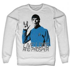 Mikina Star Trek Live Long And Prosper
