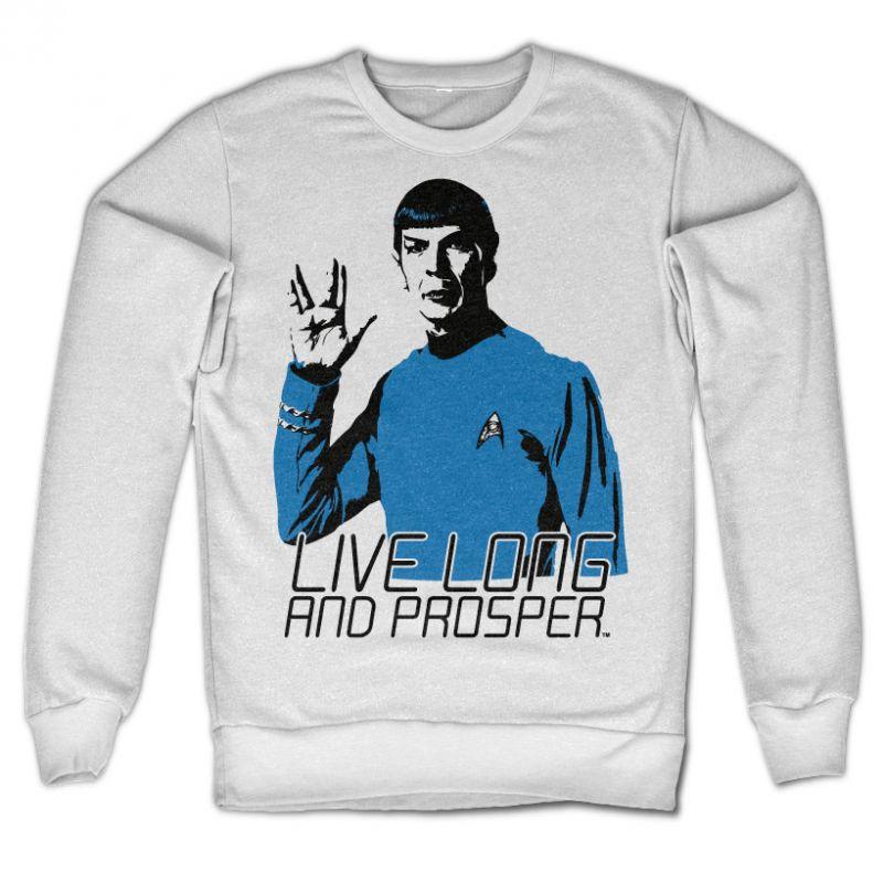 Star Trek originální mikina s potiskem Live Long And Prosper