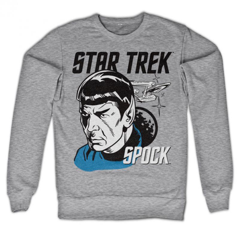 Star Trek originální mikina s potiskem Star Trek & Spock
