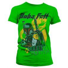 Dámské tričko Star Wars Boba Fett Bounty Hunter