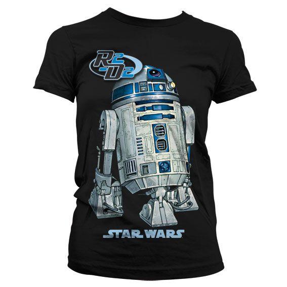 Star Wars módní dámské tričko s potiskem R2-D2
