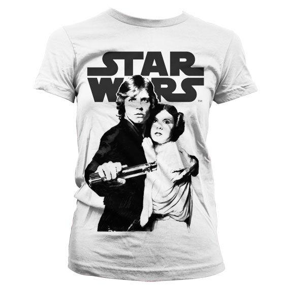 Star Wars módní dámské tričko s potiskem Vintage Poster