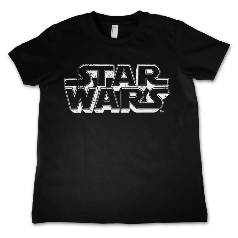Star Wars módní dětské tričko s potiskem Distressed Logo