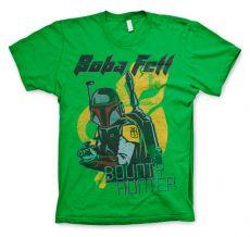 Pánské tričko Star Wars Boba Fett Bounty Hunter