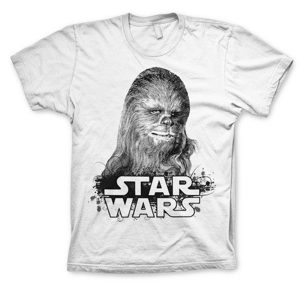 Star Wars módní pánské tričko s potiskem Chewbacca