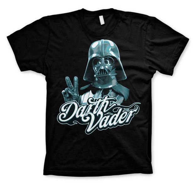 Star Wars módní pánské tričko s potiskem Cool Vader