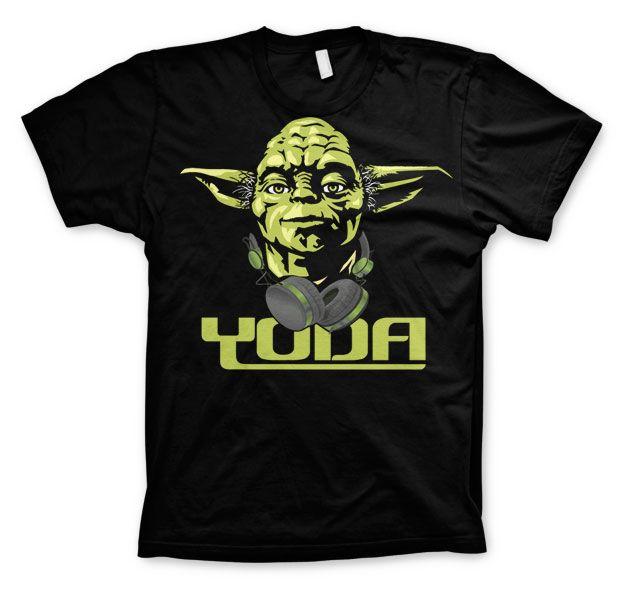 Star Wars módní pánské tričko s potiskem Cool Yoda