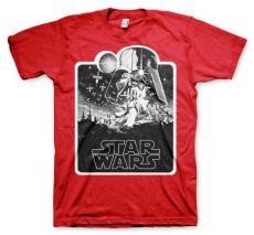 Pánské tričko Star Wars Deathstar Poster