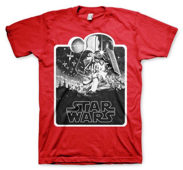 Star Wars módní pánské tričko s potiskem Deathstar Poster