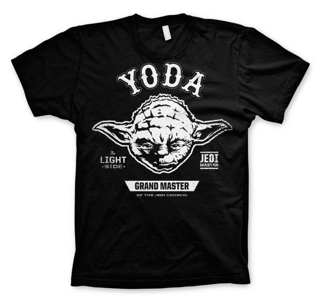 Star Wars módní pánské tričko s potiskem Grand Master Yoda