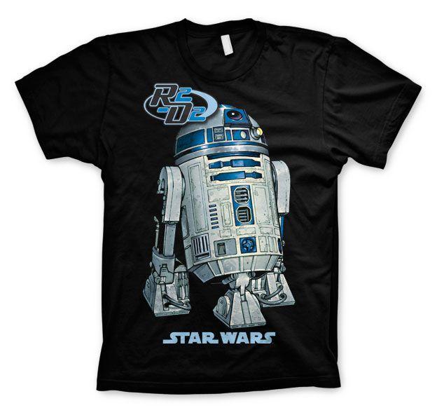 Star Wars módní pánské tričko s potiskem R2-D2