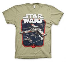 Pánské tričko Star Wars Red Squadron