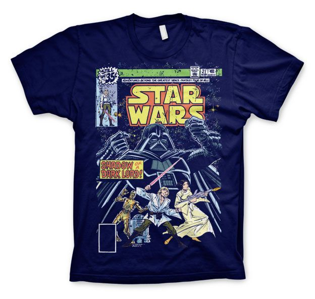 Star Wars módní pánské tričko s potiskem Shadow Of A Dark Lord