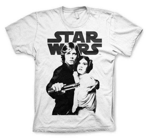 Star Wars módní pánské tričko s potiskem Vintage Poster