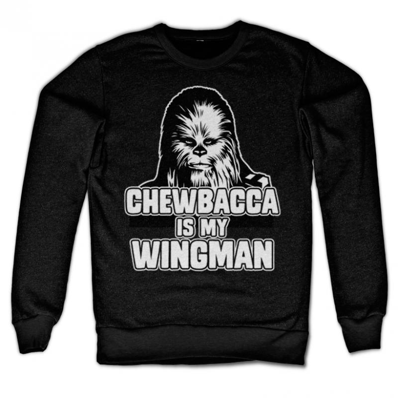 Star Wars originální mikina s potiskem Chewbacca Is My Wingman