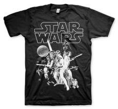 Tričko Star Wars Classic Poster