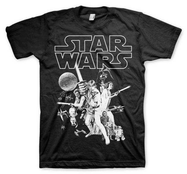Star Wars pánské tričko s potiskem Classic Poster