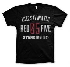 Tričko Star Wars Luke Skywalker Red 5 Standing By