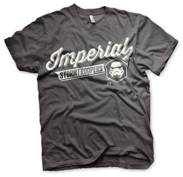 Star Wars pánské tričko s potiskem Varsity Imperial Stormtroopers