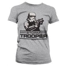 Dámské tričko s potiskem Star Wars Aiming Stormtrooper