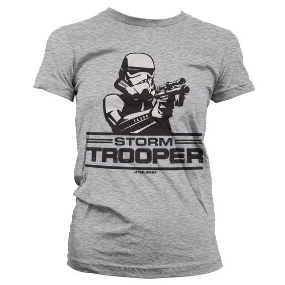 Star Wars stylové dámské tričko s potiskem Aiming Stormtrooper