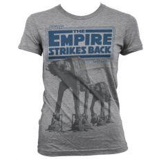 Dámské tričko s potiskem Star Wars Empire Strikes Back AT-AT
